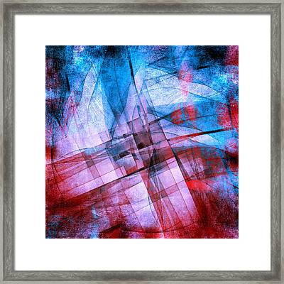The Building Blocks 2 Framed Print by Angelina Vick