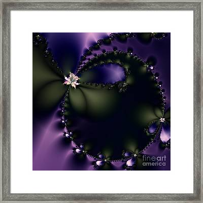 The Butterfly Effect . Square Framed Print
