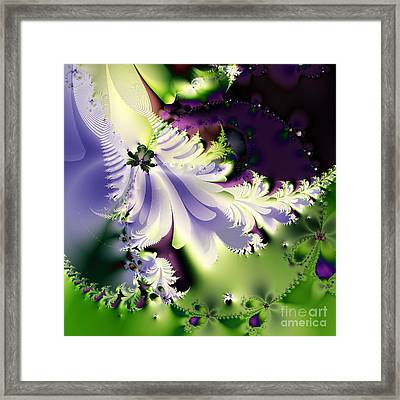 The Butterfly Effect . Version 2 . Square Framed Print