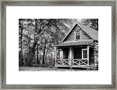The Cabin Framed Print by John Rizzuto