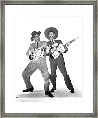 The Caddy, Dean Martin, Jerry Lewis Framed Print by Everett