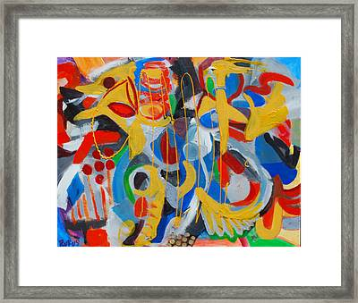 The Caged Bird Framed Print