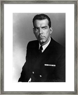The Caine Mutiny, Fred Macmurray, 1954 Framed Print by Everett