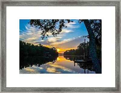 The Calm Place Framed Print
