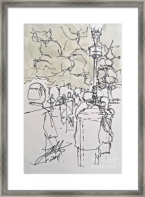 The Canopy Framed Print