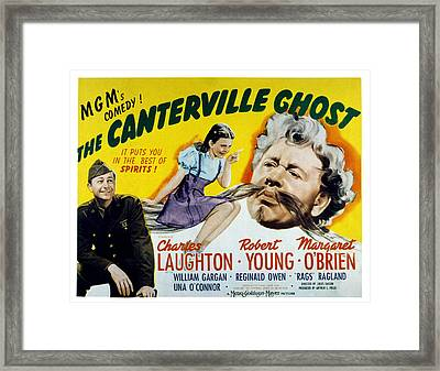 The Canterville Ghost, Robert Young Framed Print by Everett