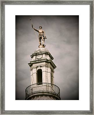 The Capitol Framed Print by Lourry Legarde