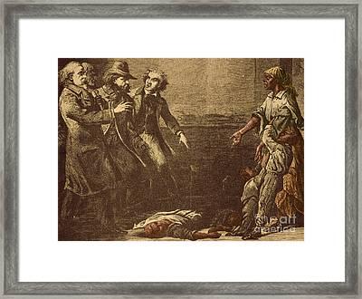 The Capture Of Margaret Garner Framed Print