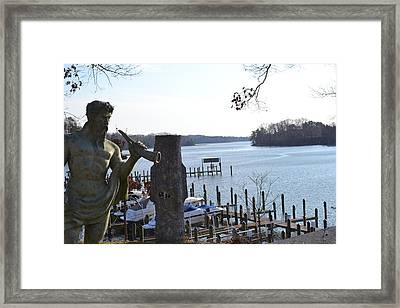 Framed Print featuring the photograph The Caretaker by Kelly Reber