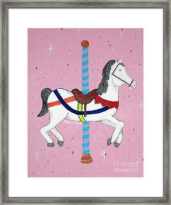The Carousel Framed Print by Cristina Mohr