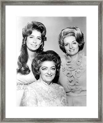The Carter Family, Anita, Maybelle Framed Print