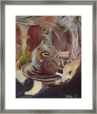 Framed Print featuring the painting the Casbah by Julie Todd-Cundiff