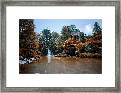 The Castle At Longwood Gardens Framed Print by Bill Cannon