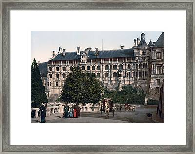 The Castle In Blois - France Framed Print by International  Images