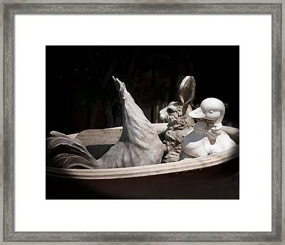 The Castways Framed Print by Diane Wood