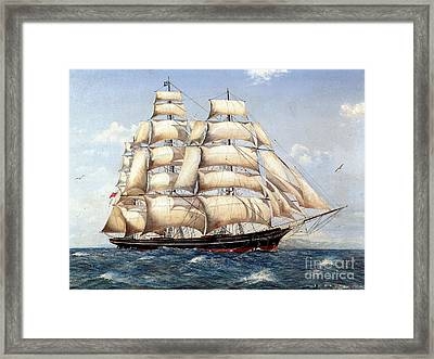 The Catty Sark In  Her Glory  Framed Print