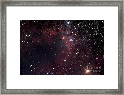 The Cave Nebula Framed Print by Robert Gendler