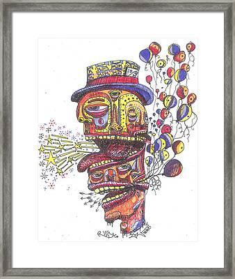 The Celebration Framed Print by Robert Wolverton Jr