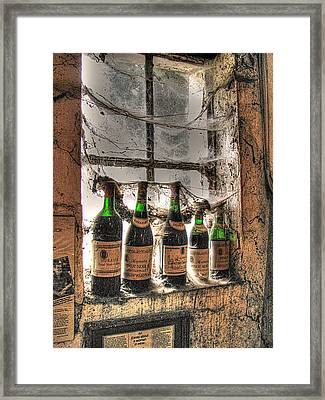 The Cellar Window Framed Print by William Fields