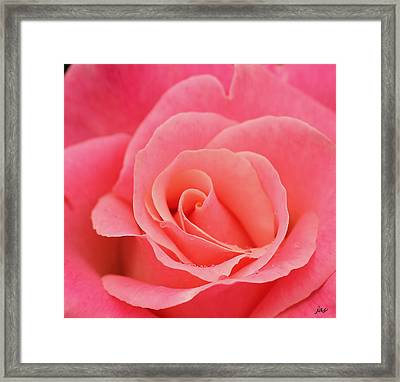 The Center Framed Print