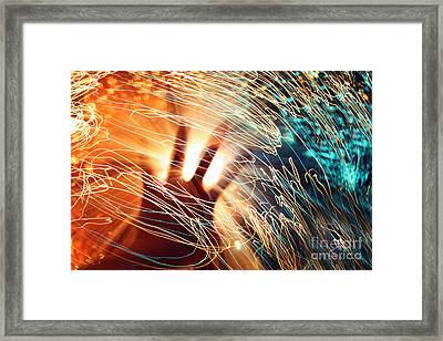 The Centre Of The Universe Framed Print by Catherine MacBride