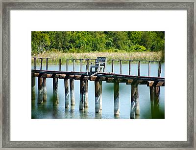 The Chair Framed Print by Lisa Moore