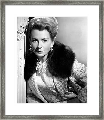 The Chalk Garden, Deborah Kerr, 1964 Framed Print by Everett