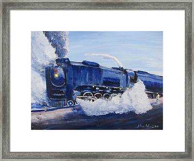 The Challenger Framed Print by Don Hutchison