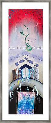 The Challenges Of Ganesha Framed Print by Paul Brink