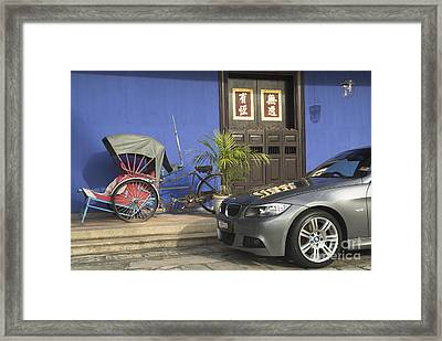 The Changing Face Of Asia Framed Print by Mark Azavedo