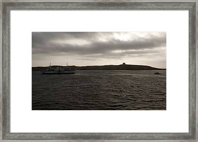 The Channel Framed Print by Focus  Fotos
