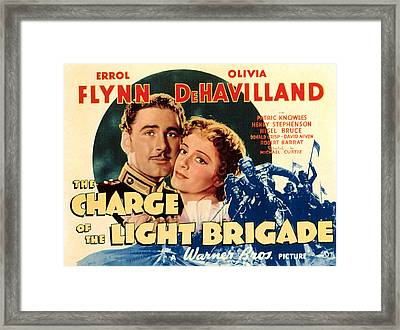 The Charge Of The Light Brigade, Errol Framed Print by Everett
