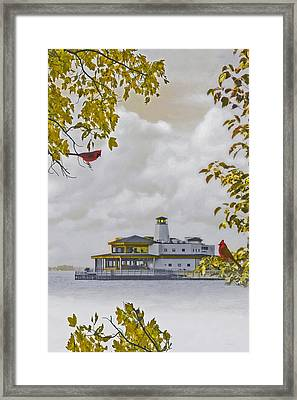 The Chart House  Framed Print by Tom York Images