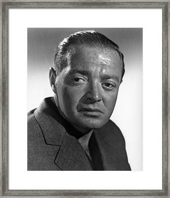The Chase, Peter Lorre, 1946 Framed Print by Everett