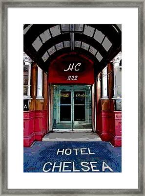 The Chelsea Hotel Framed Print