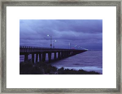 The Chesapeake Bay Bridge-tunnel Framed Print