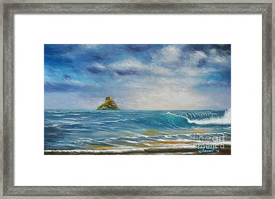The Chinaman's Hat Framed Print