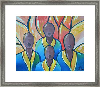 The Choir Framed Print