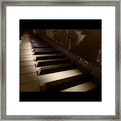 The Chords Of Progression Framed Print