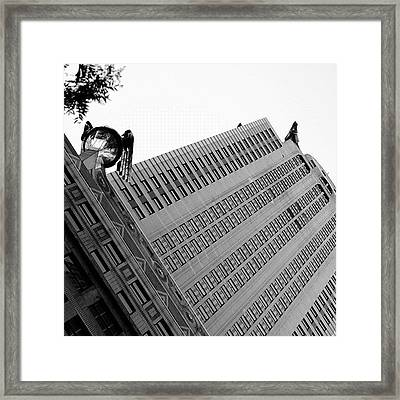 The Chrysler - New York Framed Print