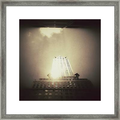The Chrysler Building - New York City Framed Print by Vivienne Gucwa