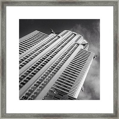 The Chrysler Building Ny  Framed Print