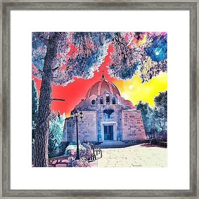 The Church Of The Shepherd's Fields Framed Print