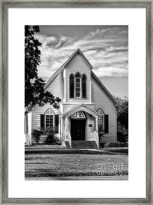 The Church Framed Print by Tamera James