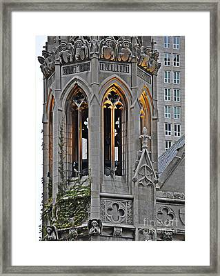 The Church Tower Framed Print