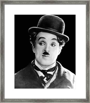 The Circus, Charles Chaplin, 1928 Framed Print
