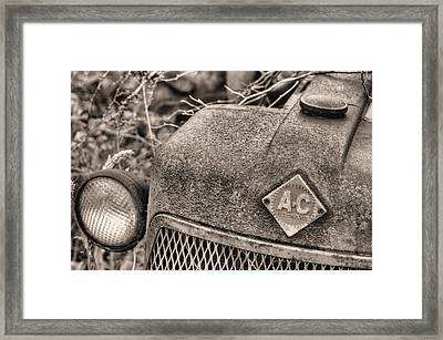 The Classic Allis Bw Framed Print by JC Findley