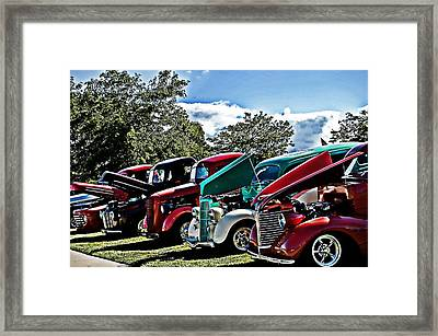 The Classics Framed Print by Cheryl Cencich
