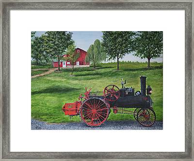 The Clemens Farm Framed Print