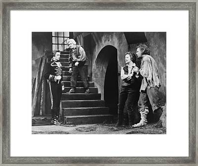 The Climactic Scene From Beethovens Framed Print by Everett